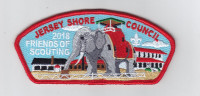 Jersey Shore Council 2018 FOS CSP Jersey Shore Council #341