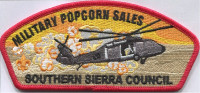 Military Popcorn Sales SSC CSP Southern Sierra Council #30