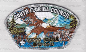 Patch Scan of SO FLA CNCL WOODBADGE EAGLE CSP