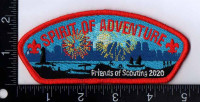 Spirit of Adventure Friends of Scouting 2020 Yankee Clipper Council #236