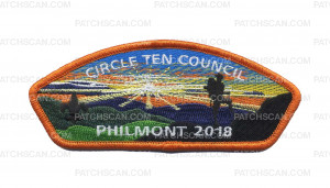 Patch Scan of Circle Ten Council Philmont 2018