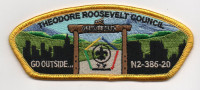 TRC WOOD BADGE 2020 YELLOW Theodore Roosevelt Council #386