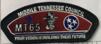 357496 MT65 Middle Tennessee Council #560