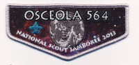 TB 212581 Osceola Jambo Flap Top 2013 Southwest Florida Council #88