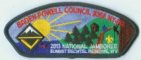 BADEN-POWELL 2013 NAT'L JAMBO  Baden-Powell Council #381