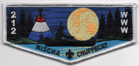 NISCHA CHUPPECAT FLAP  Hoosier Trails Council #145