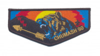 Chumash 90 Flap (Black Border) Los Padres Council #53