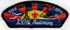 Patch Scan of Bay Area Council 100 Anniversary 1919- 2019 (CSP)