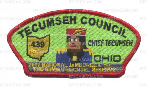 Patch Scan of Tecumseh CSP - Red