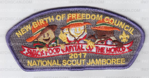 Patch Scan of NBOF National Jamboree 2017