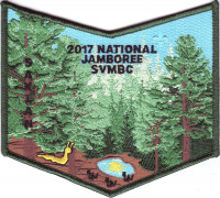 2017 National Jamboree - SVMBC - Pocket Piece Silicon Valley Monterey Bay Council #55