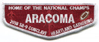 aracoma 2018 section red Black Warrior Council #6