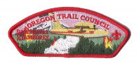 Oregon Trail Council 2017 National Jamboree JSP Red Border KW2156 Crater Lake Council #491