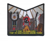 Circle Ten Council - Top 10 Southern Drum Team Pocket Piece Circle Ten Council #571