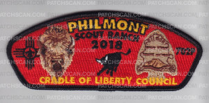 Patch Scan of Philmont Expedition 2018