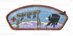Patch Scan of S.F.B.A.C. Fremont California - 2018 Philmont 706-B