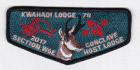 Kwahadi Lodge 78 Conclave Host Lodge Conquistador Council #413