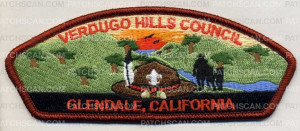 Patch Scan of Verdugo Hills Council - CSP