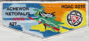 Patch Scan of LR 1970-1 Achewon Netopalis NOAC (