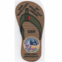 Jamboree Sandal (PO 87063) Indian Waters Council #553