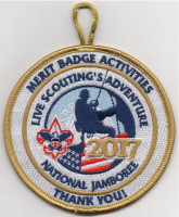 2017 Jamboree Merit Badge Activities Thank you (PO 87142) San Diego-Imperial Council #49