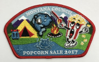 Popcorn Sale 2017 CSP Red Montana Council #315