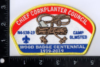 Chief Cornplanter Council Wood Badge Centennial 1919 - 2019 Chief Cornplanter Council #538