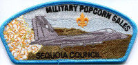 MILITARY POPCORN SALES SEQUOIA COUNCIL CSP Sequoia Council #27