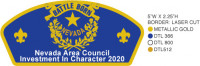 Battle Born Nevada CSP Investment In Character 2020  Nevada Area Council #329