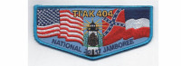2017 National Jamboree Flap (PO 86964) Pine Burr Area Council #304