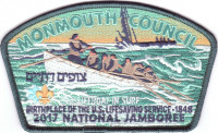 Monmouth Council- 2017 NSJ- Lifeboat in Surf - Monmouth Council #347