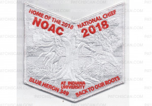 Patch Scan of NOAC 2018 Pocket Patch Ghosted (PO 87628)