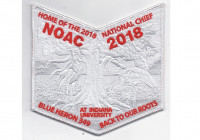 NOAC 2018 Pocket Patch Ghosted (PO 87628) Tidewater Council #596