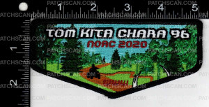 Patch Scan of Samoset Council TKC 96 NOAC