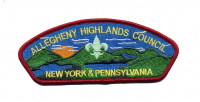 Allegheny Highlands Council CSP Allegheny Highlands Council #382