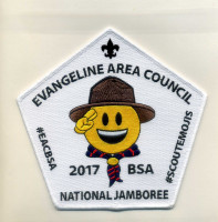 Evangeline Area Council - 2017 National Jee - Centerambor Evangeline Area Council #212