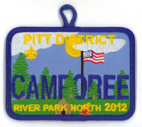 X167404A PITT DISTRICT CAMPOREE 2012 East Carolina Council #426
