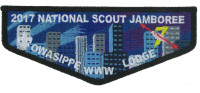 2017 National Scout Jamboree Owasippe Lodge 7 WWW Flap Pathway to Adventure Council #
