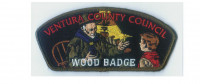 Ventura County Wood Badge CSP green border Ventura County Council #57