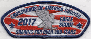 Patch Scan of EAGLE SCOUT 2017 CROSSROADS