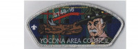 Yocona Wood Badge CSP full color,silver border Yocona Area Council #748