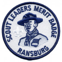 Scout Leaders Merit Badge Crossroads of America Council #160
