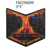 Wichita 35 2018 NOAC fire pocket patch Northwest Texas Council #587