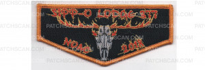Patch Scan of 2018 NOAC Flap Orange Border (PO 88000)