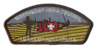 Northeast Iowa Council 100 Years of Adventure CSP 2017 Northeast Iowa Council #178