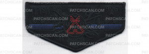 Patch Scan of Police Support Flap (PO 88028)