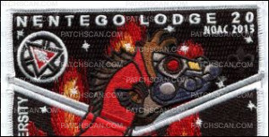 Patch Scan of Nentego Lodge 20 ST Flap