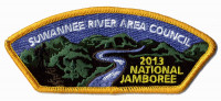 2013 JAMBOREE- SUWANNEE RIVER AREA COUNCIL-# 211053 Suwannee River Area Council #664